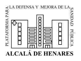 Nota de prensa de la Plataforma para la defensa y mejora de la Sanidad