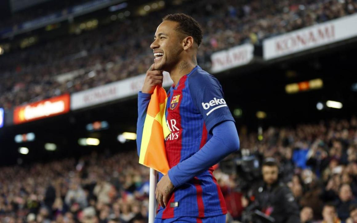 Neymar Jr, one short of 100 goals for FC Barcelona