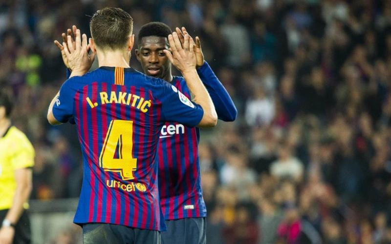 Rakitic y Dembélé, nominados a mejor gol de la fase de grupos