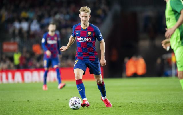 De jong at Barcelona