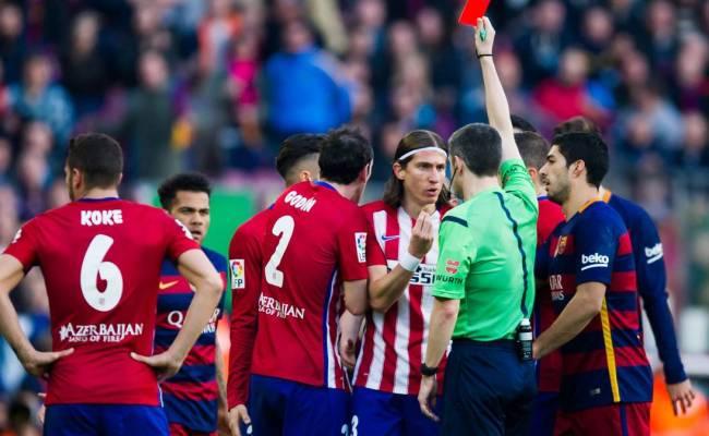 Messi Y Filipe Luis De Nuevo Cara A Cara Tras La Agresión