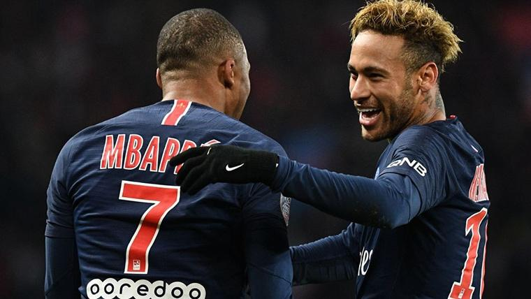 La aficin del Bara prefiere a Mbapp antes que a Neymar
