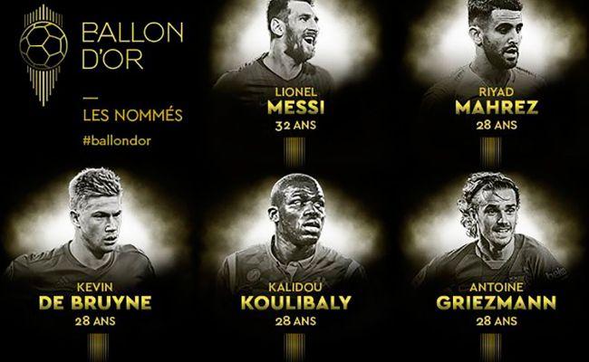 Cuatro Culés Entre Los 30 Nominados Al Balón De Oro
