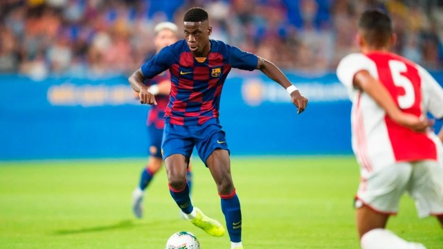 Ilaix Moriba and José Martínez represent Barça in the U17 World Cup