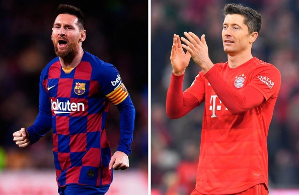 Messi squeezes a recordman Lewandowski to be the top scorer of 2019
