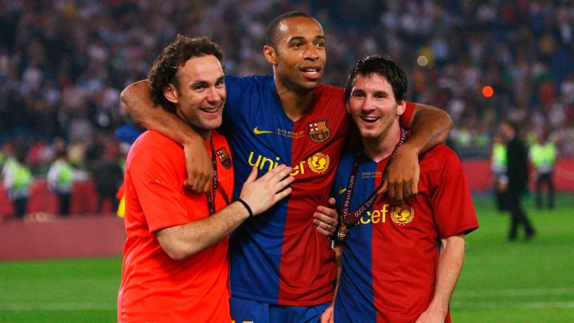Barça talked with Henry and thought about Milito in case Valverde ...