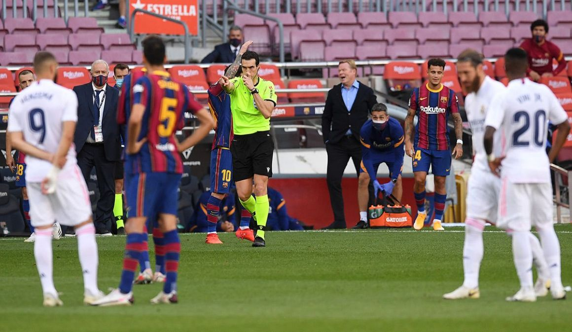 ESCÁNDALO: El VAR rescató al Madrid con un penalti polémico
