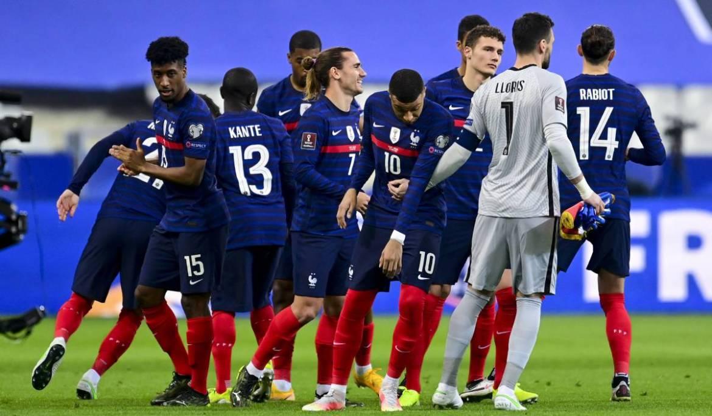 Antoine Griezmann se viste de goleador con la selección f...