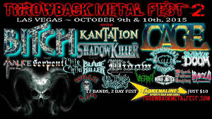 Throw Back Metal Fest 2015