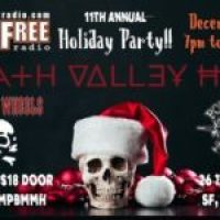 11th Annual FCCFREE RADIO Holiday Party, Saturday December 14th 6:PM