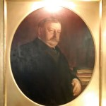 Lawyer William Taft was a member from 1904-13, the nameplate on his portrait says. It doesn't mention he was the 27th President of the US in that time. And Chief Justice after then. The 31st, Herbert Hoover, is described as a mining engineer.