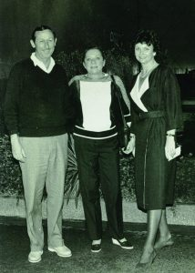 Roy Disney and wife