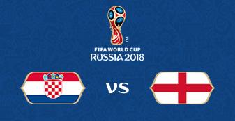 FIFA World Cup: Russia 2018 - Croatia vs England