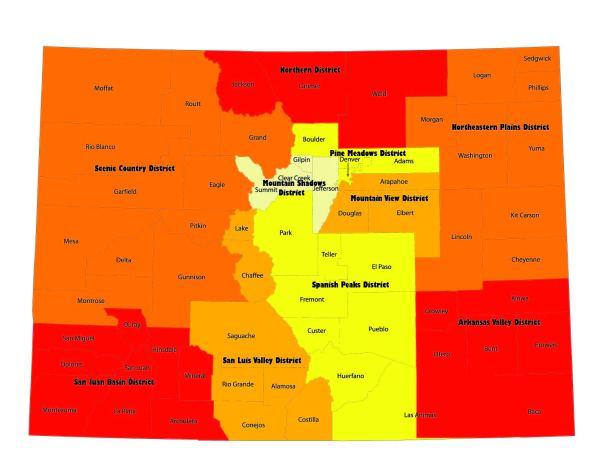 Colorado Representative District Map - imgUrl