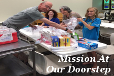 Mission At Our Doorstep portal