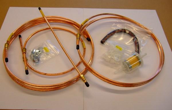 Fuel Pipe Kit (Classic or Capri)