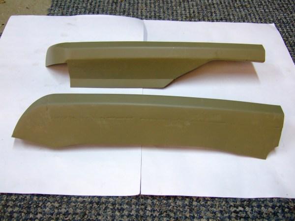 Headlamp Panel Shelf