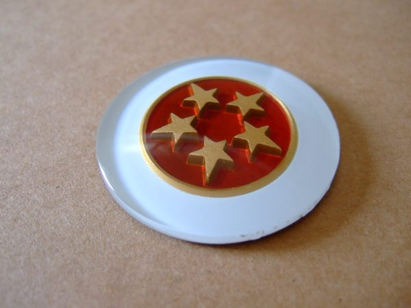 Pillar badge – 5 Star
