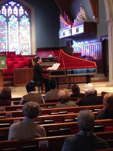Masayuki Maki, harpsichord
