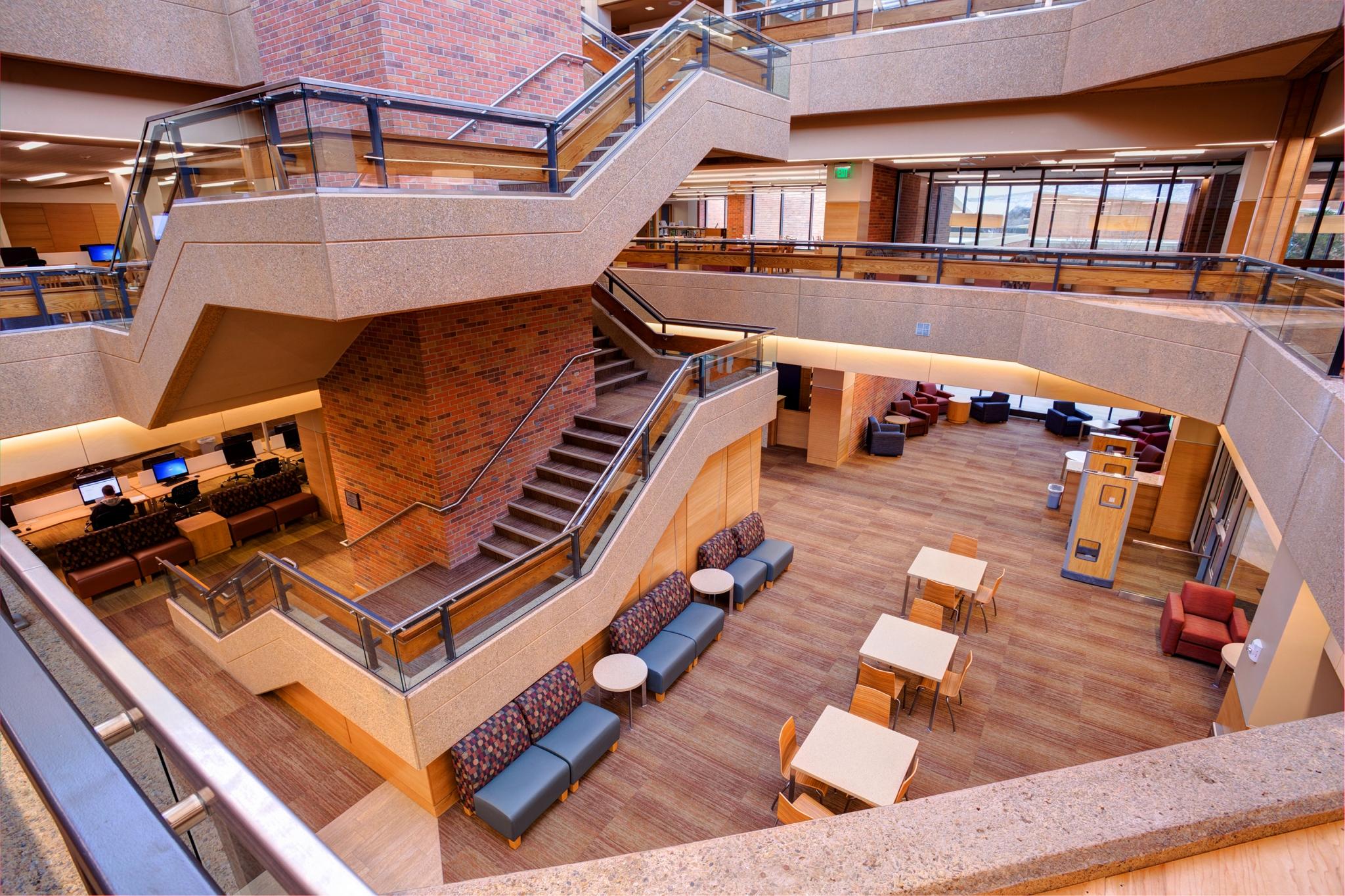 Colorado Mesa University Tomlinson Library Addition  Renovation  FCI Constructors