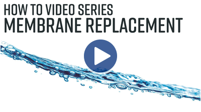 FCI Watermakers Membrane Replacement Video Thumbnail