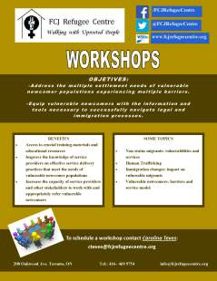 WORKSHOPS ON VULNERABLE SECTORS