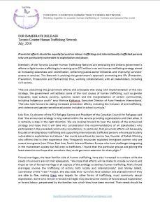 TCHTN press release