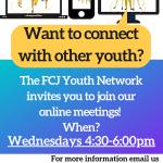 Actividades virtuales de la Red de Jóvenes del FCJ