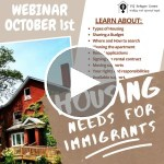 Webinar | Housing Needs for Immigrants: Housing Search