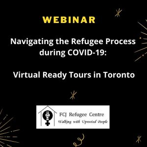 Webinar   Refugee Process during COVID-19 Updates: Virtual Ready Tours