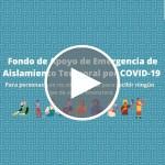 Webinar | Ayuda de emergencia para aislamiento temporal por COVID-19