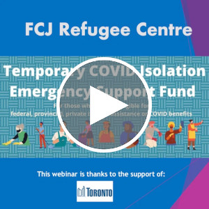 Webinar | Temporary COVID-19 Isolation Emergency Support Fund