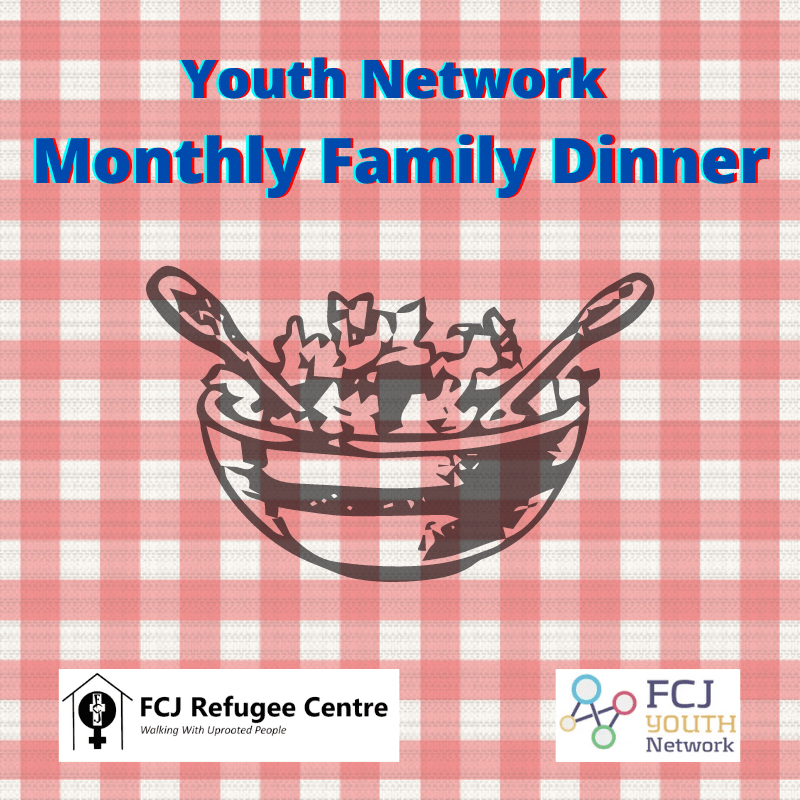 Youth Network Monthly Virtual Family Dinner
