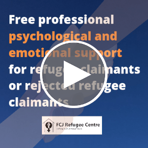 Webinar | Free professional psychological and emotional support for refugee claimants or rejected claimants