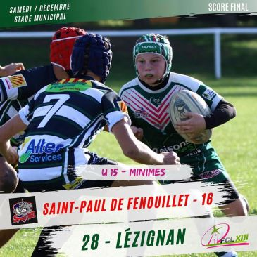 Victoire du FCL XIII à Saint-Paul