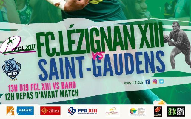 Revoir le match FCL – Saint-Gaudens