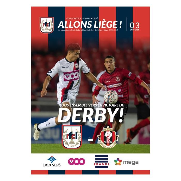 Allons Liège ! #3 - saison 2018-2019 - mars 2019