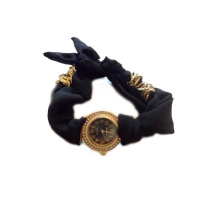 fancy-cloth-band-watch-black