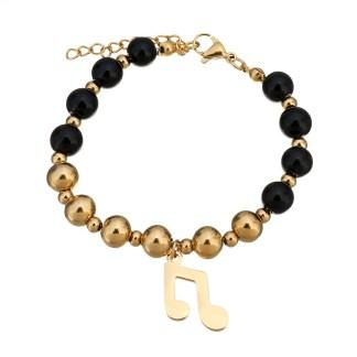 Bracelet Music Note Charm