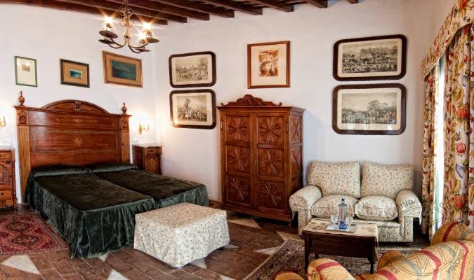 Hospedera duques de Medina Sidonia  Palacio de los