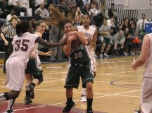 FCHS player Claudia Valdivieso fights for a rebound late in Tuesday's game against Stuart High. (Photo: News-Press)