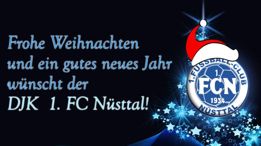 Frohe Weihnachten Und Ein Gutes Neues Jahr 2019 Djk 1 Fc Nusttal