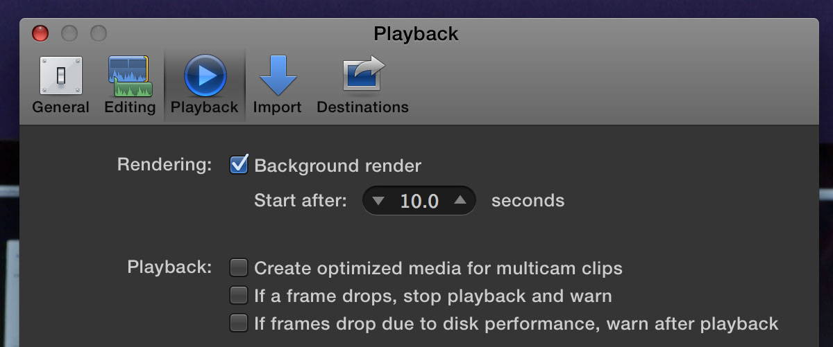 top ten fcpx pressure background render