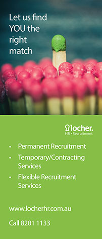 Locher Recruitment Pull-Up Banner