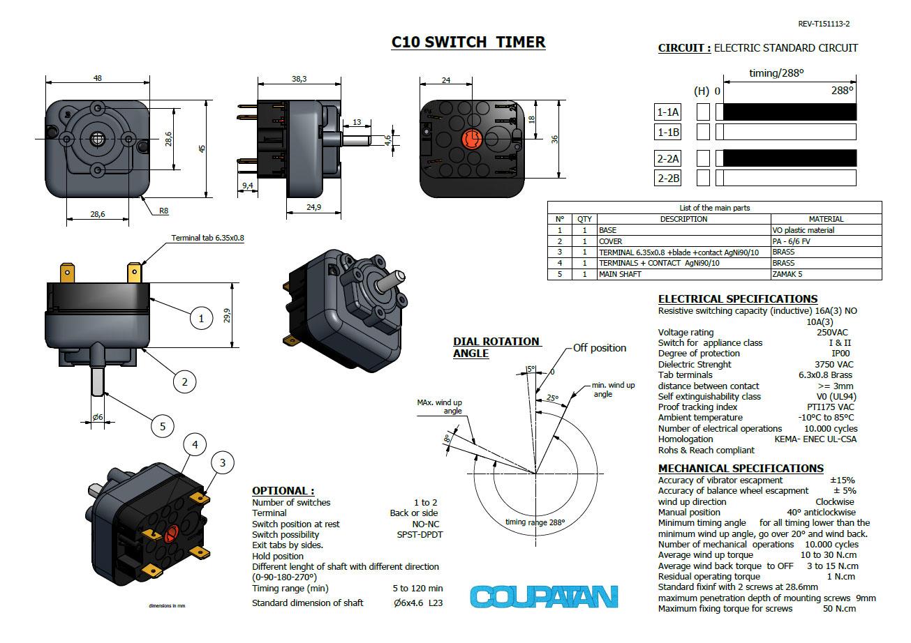 C10 Switch Timer