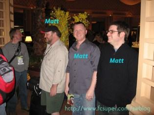 3 Matts