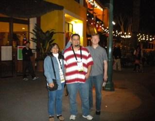 Gabi, Alex and I