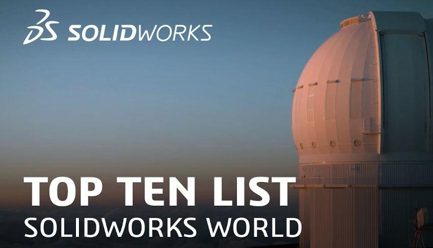 SOLIDWORKS Top Ten
