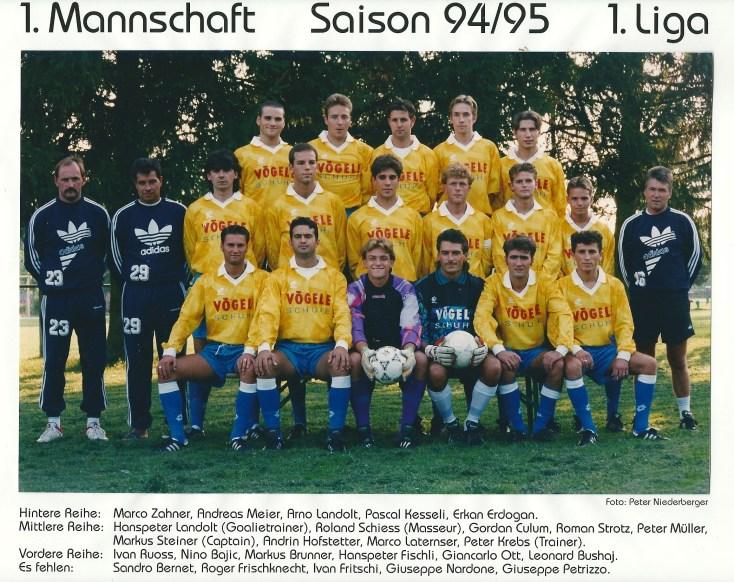 FCU Saison 1994_1995