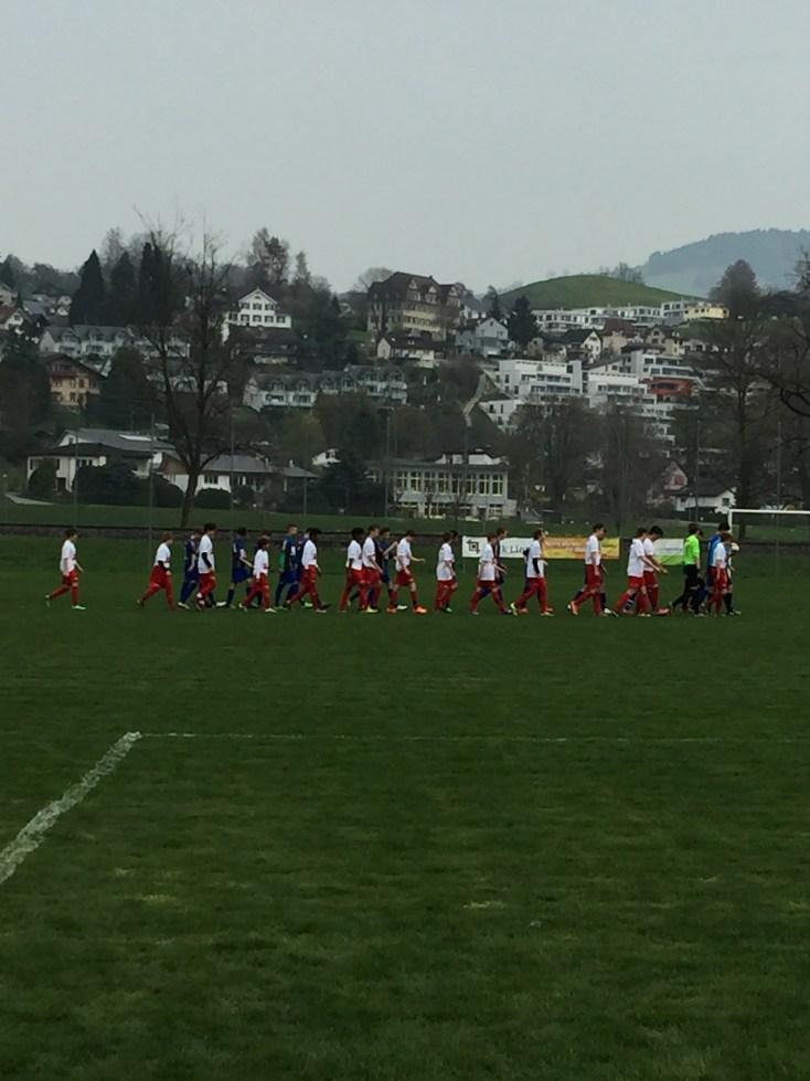 C1-Junioren verlieren knapp gegen Fc Sirnach